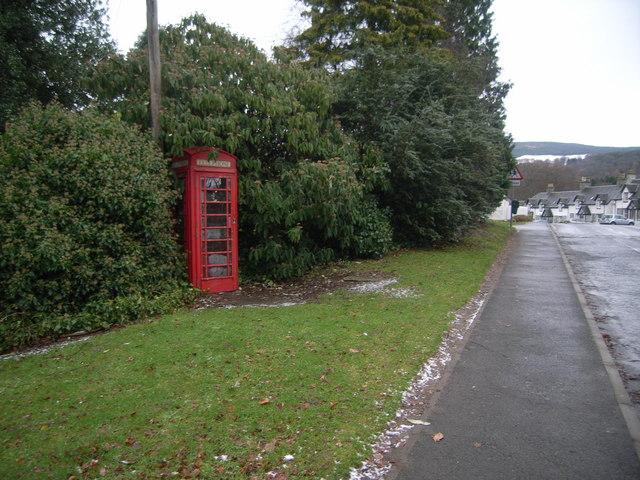 Kenmore Telephone Kiosk