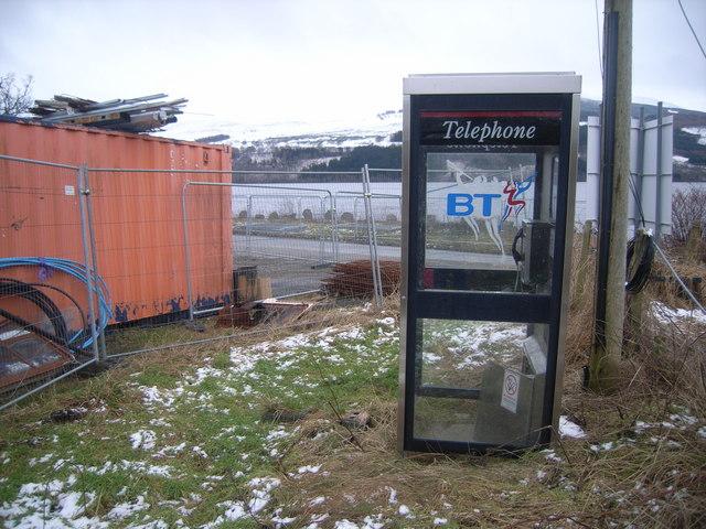 Fearnan Telephone Kiosk