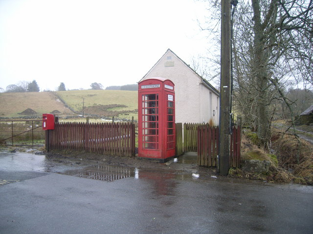 Blacklunans Telephone Exchange & Telephone Kiosk