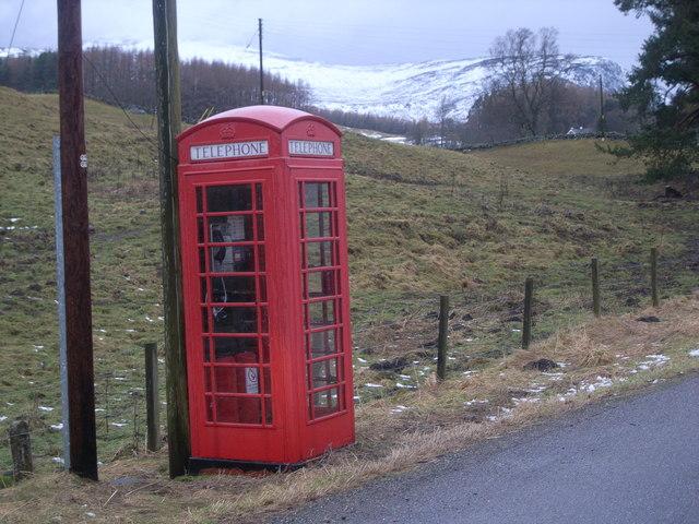 Brewlands Bridge Telephone Kiosk