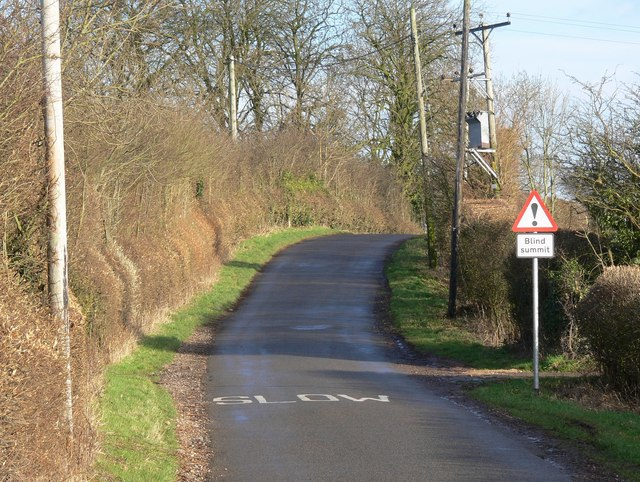 Earl Shilton Road towards Thurlaston