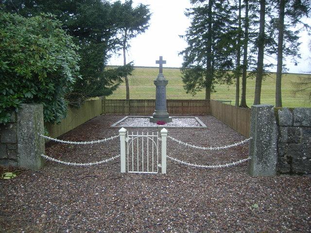 War Memorial at Bridgend of Lintrathen