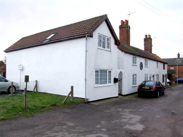 Houses on Simpson Street, Spilsby