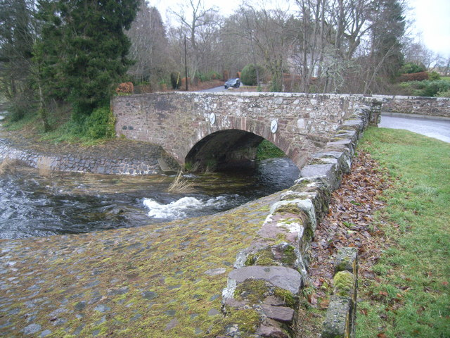 Bridge at Bridgend of Linthathen