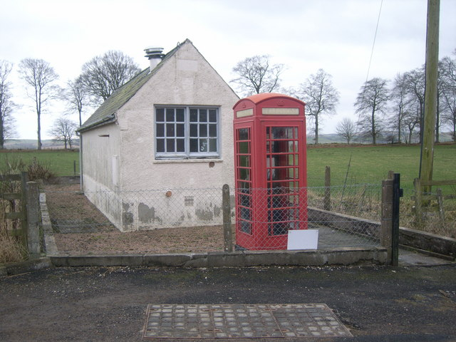 Careston Telephone Exchange & Kiosk