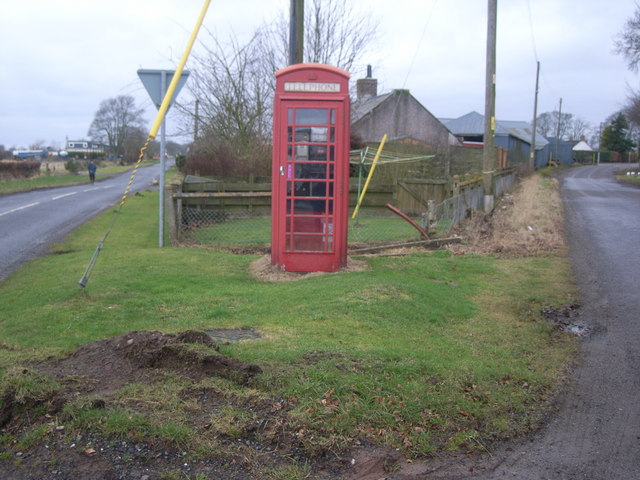 Little Brechin Telephone Kiosk, Cattle Rake