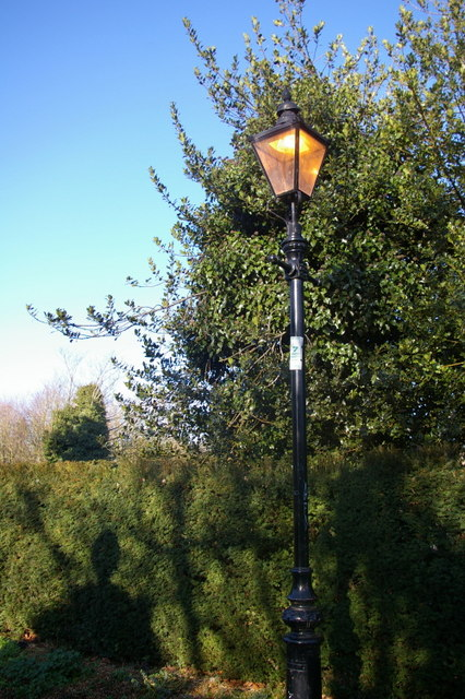 Street lamp on Burrell's Walk