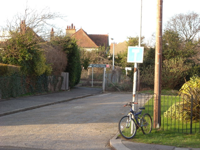 Approach to Collington Station, Bexhill-on-Sea