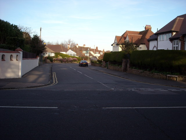 Quiet suburbia, Bexhill-on-Sea