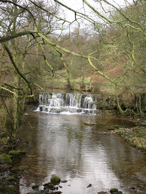 Waterfall on the Nidd
