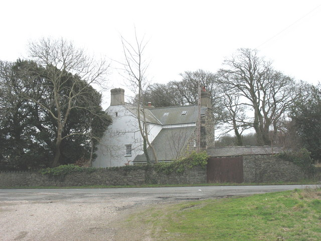 Bodfel Bach from the entrance to Bodvel Hall