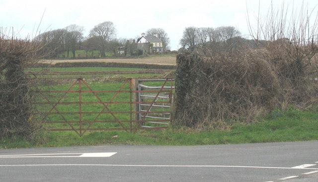 Bryn-moelyn House from Bodfel Bach
