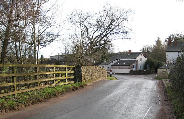 Bridge over Garren Brook at Llangarron