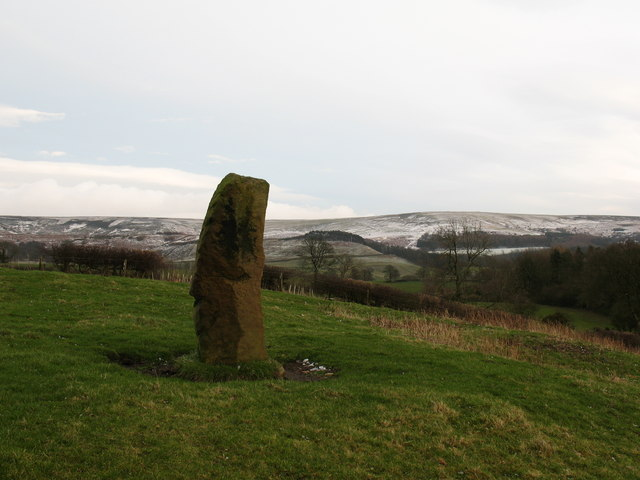 Standing stone, Nether Silton