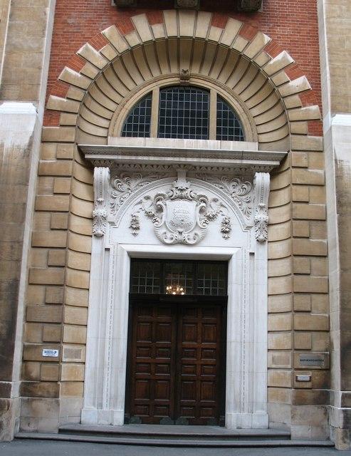 Main entrance NER building