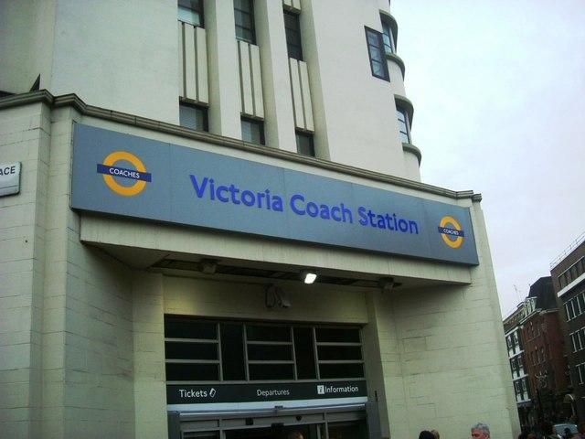 Victoria Coach Station entrance