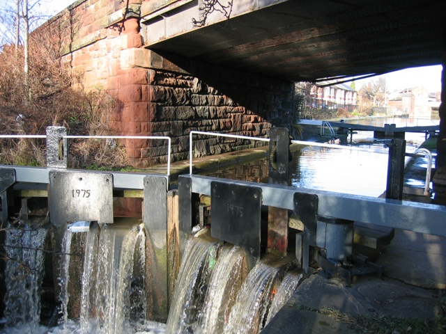 Lock gates under South View Road