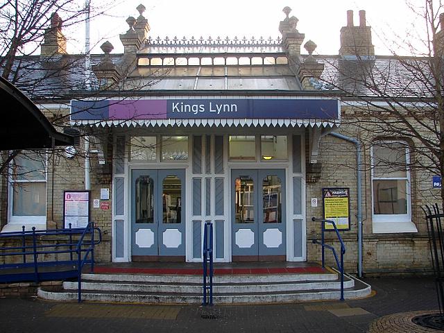 King's Lynn Railway Station Entrance