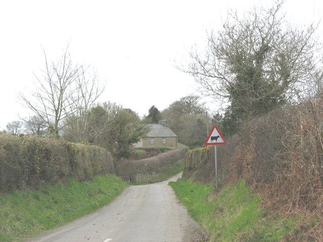 Felin Llannor farmhouse