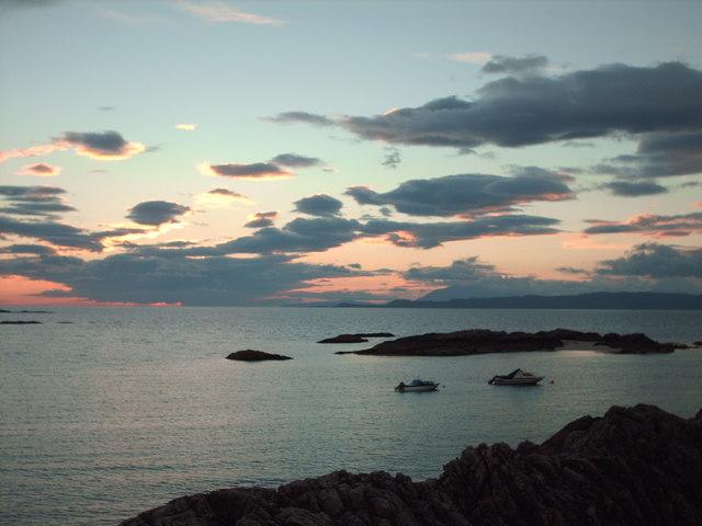 Sunset at Portnadoran
