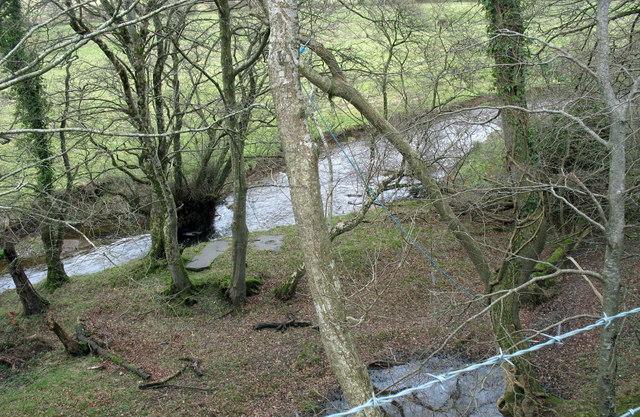 Afon Rhyd-hir above Pont Bodfel