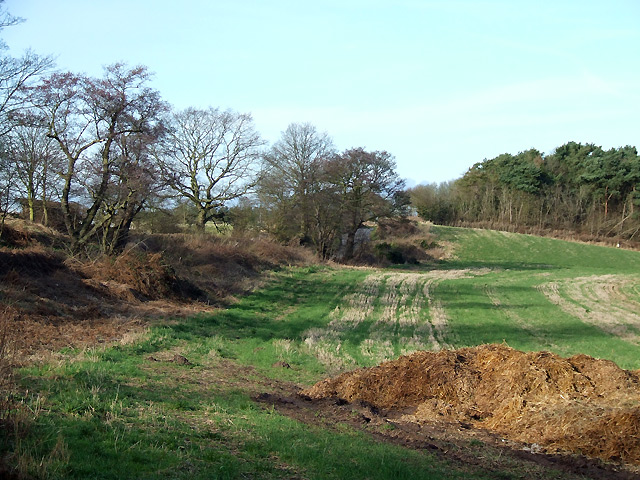 Farmland near Ashwood, Staffordshire