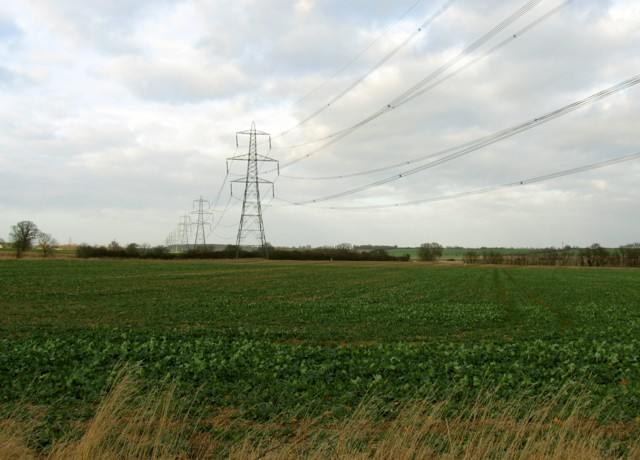 Pylons to the North
