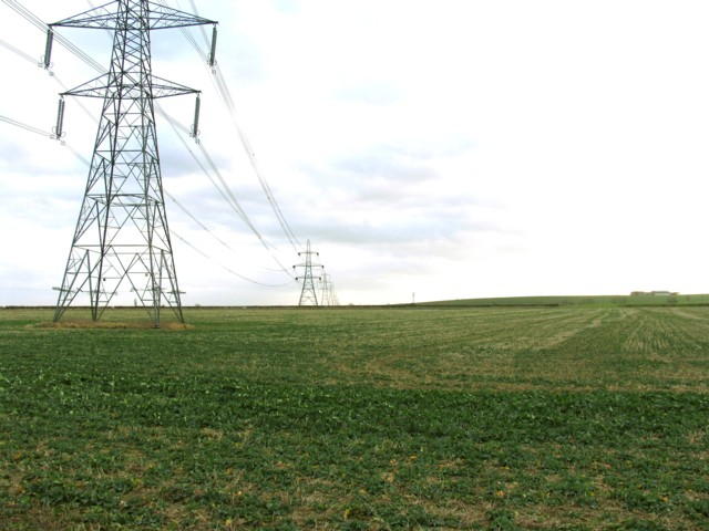 Pylons to the South
