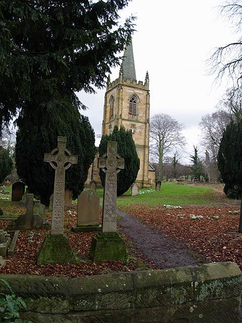 St Cuthberts churchyard
