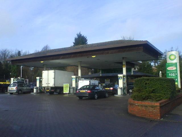 Service Station Luton Road