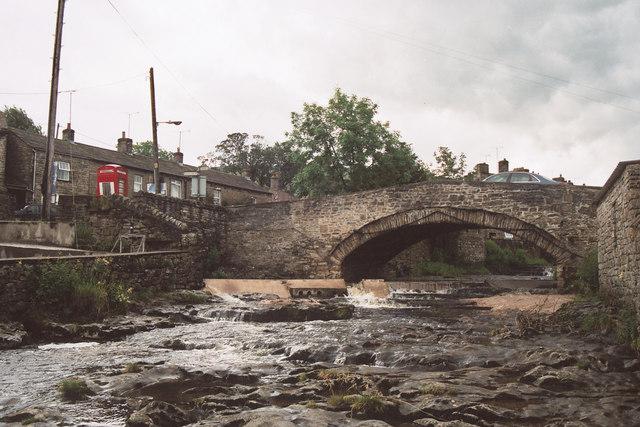 Weir at Gayle Bridge