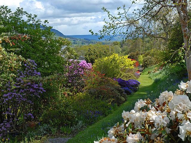 The gardens at Bolfracks