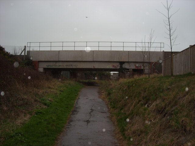 Railway underpass, Bexhill-on-Sea