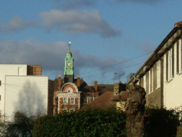 Hammersmith Hospital clock tower