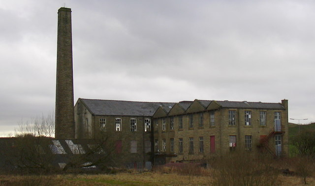 Britannia Mill, Haslingden