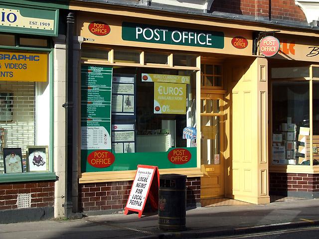 Post Office, 68 Worcester Street, Wolverhampton