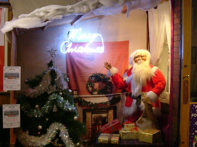 Masson Mill Christmas display