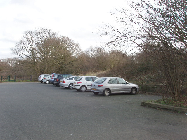 Car park on Horsenden Hill