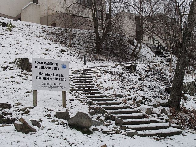Steps, Loch Rannoch timeshare