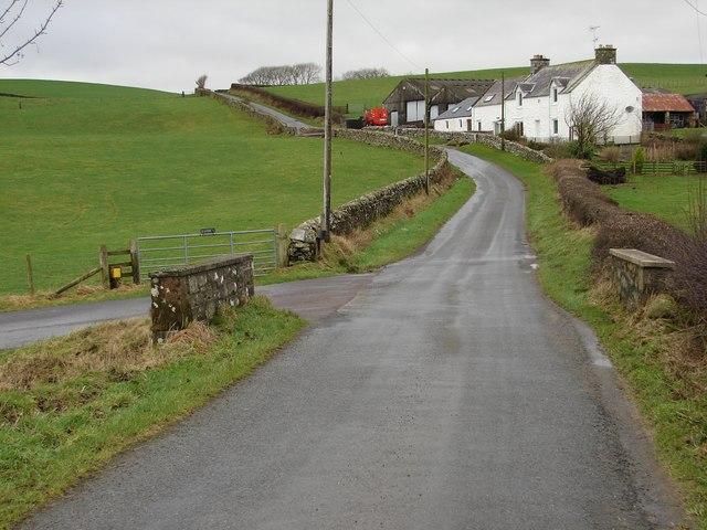 Muiryard Bridge and Farm