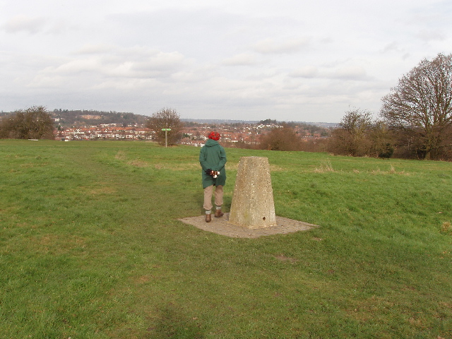 Trig point on Horsenden Hill