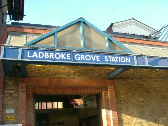 Ladbroke Grove station entrance