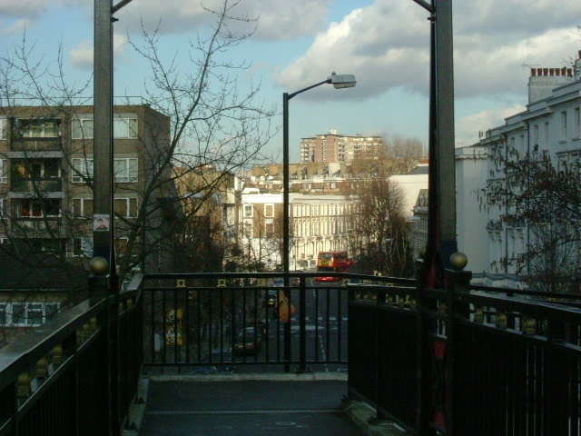 Formosa Street footbridge, W9