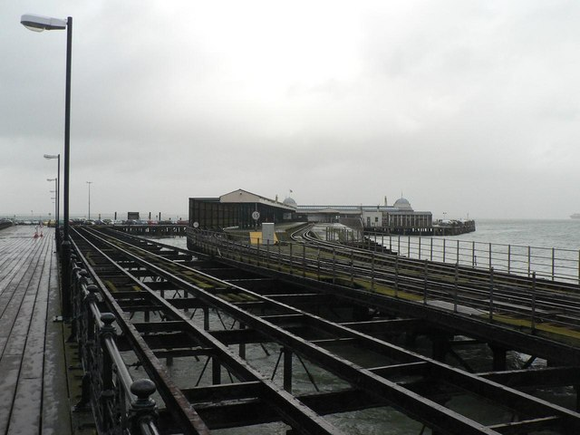 Ryde: towards the end of the pier