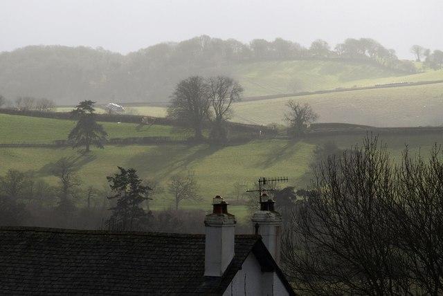Countryside near Hayne, from Moretonhampstead