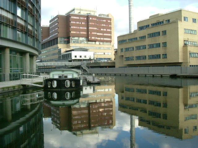 St. Mary's Hospital, Grand Union Canal - Paddington Basin