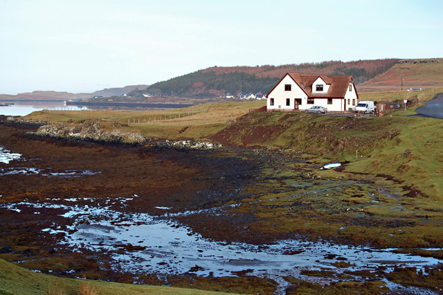 House at the head of Loch Dunvegan