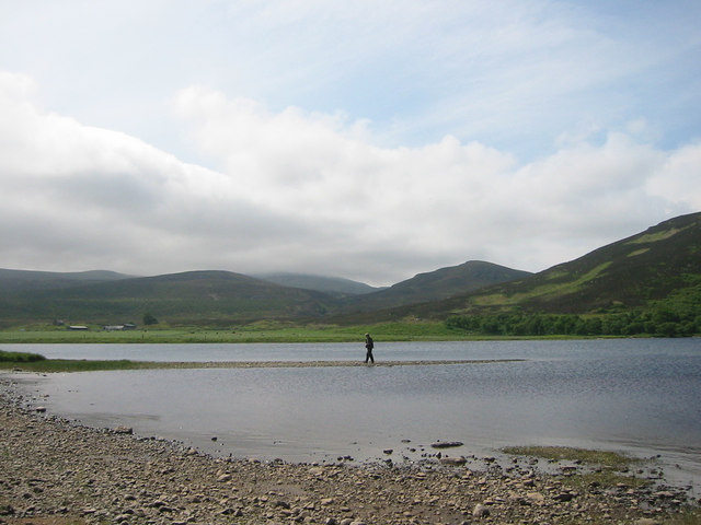 Low water on Loch Brora