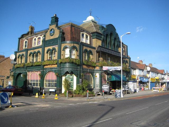 Edmonton: The Cock Tavern, Hertford Road, N9
