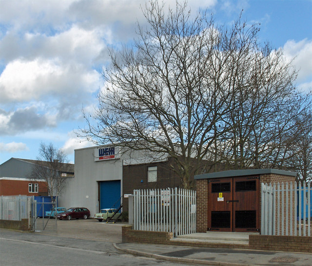 Industrial Unit and Electricity Sub-station, Humber Road